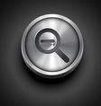 zoom icon vector image vector image