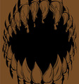 Monster Mouth vector image