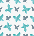 color seamless pattern of colorful butterflies vector image vector image