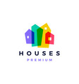house home mortgage roof architect logo icon vector image vector image
