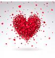 Romantic heart red hearts
