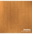Seamless wood pattern vector image vector image