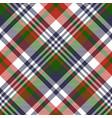 tartan fabric texture seamless pattern vector image vector image