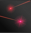 two laser beams vector image