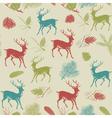 Vintage animal patterns vector image vector image