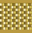 gold gradient pattern vector image