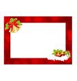 christmas frame 2211 01 vector image vector image