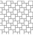 hopscotch pattern vector image vector image