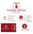 law office style vector image vector image