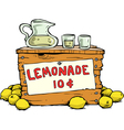 lemonade vector image