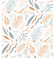 nature abstract seamless pattern design rustic vector image vector image