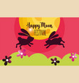 rabbit happy moon festival image vector image