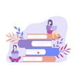 read books online vector image
