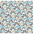 seashell seamless pattern fashion texture vector image vector image
