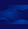 abstract modern blue gradient liquid wave vector image vector image