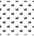 bar saloon pattern seamless vector image