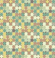 Colorful circle square geometric seamless pattern vector image vector image