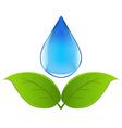 drop of water vector image