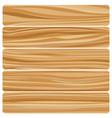 five wooden boards vector image vector image