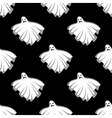 Flying Halloween ghosts seamless pattern vector image vector image