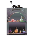 Halloween Boutique Background vector image vector image