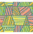 tribal seamless pattern Geometric background vector image vector image