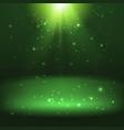 shining light effect background vector image