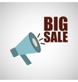big sale offer discount commerce vector image vector image