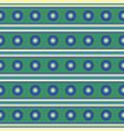 circle stripes seamless pattern horizontal vector image vector image