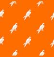 falcon pattern seamless vector image vector image