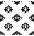 Floral damask arabesque motifs seamless pattern vector image vector image