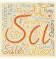 How to Find Sci Fi Collectibles Available For Sale vector image vector image