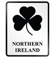 Northern Ireland Sign vector image vector image