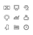 office outline icon4 vector image vector image