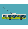 Trolley City Bus Icon vector image