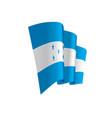 honduras flag vector image
