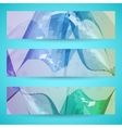 Abstract banner background vector image vector image