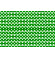 abstract pattern white net on green vector image vector image