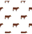 cow pattern seamless vector image vector image
