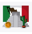 Mexico design Culture icon Colorfull vector image vector image