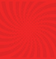red background with swirl vector image