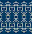 rhomboid seamless pattern vector image vector image