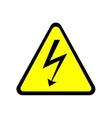 Sign danger 2305 vector image vector image