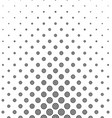 Black and white circle pattern design vector image vector image