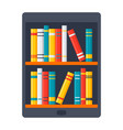 ebook icon vector image vector image