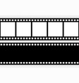 film strip template vector image