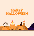 happy halloween october 31st holiday greeting vector image vector image