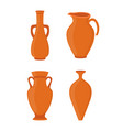 potteryancient greek vase antique ceramic vector image vector image
