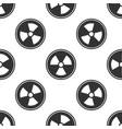 radioactive icon seamless pattern vector image