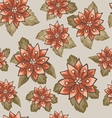 Seamless patterns with flowers vector image vector image